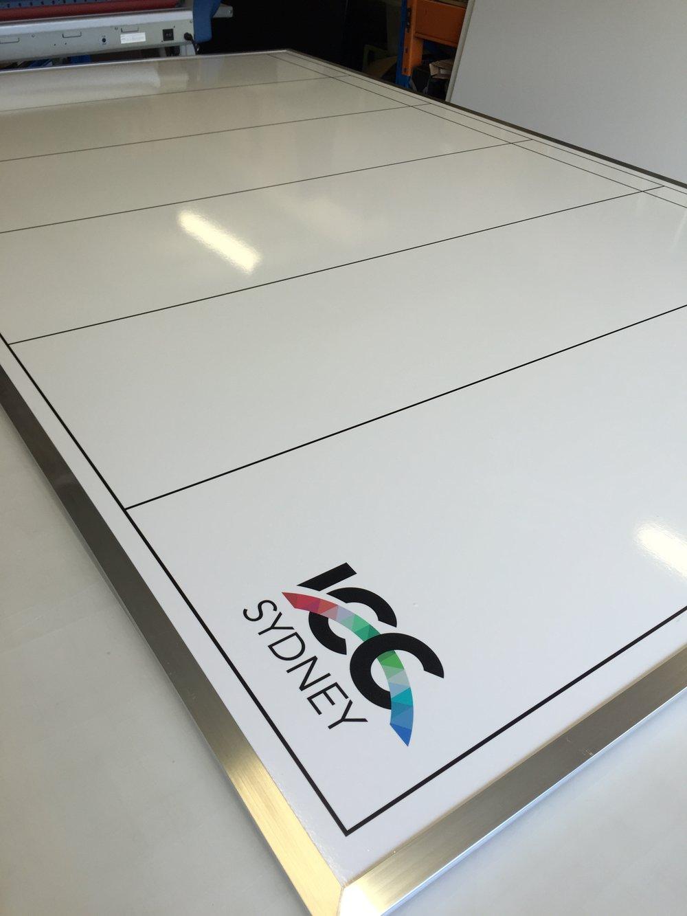 Custom Whiteboard for ICC Sydney