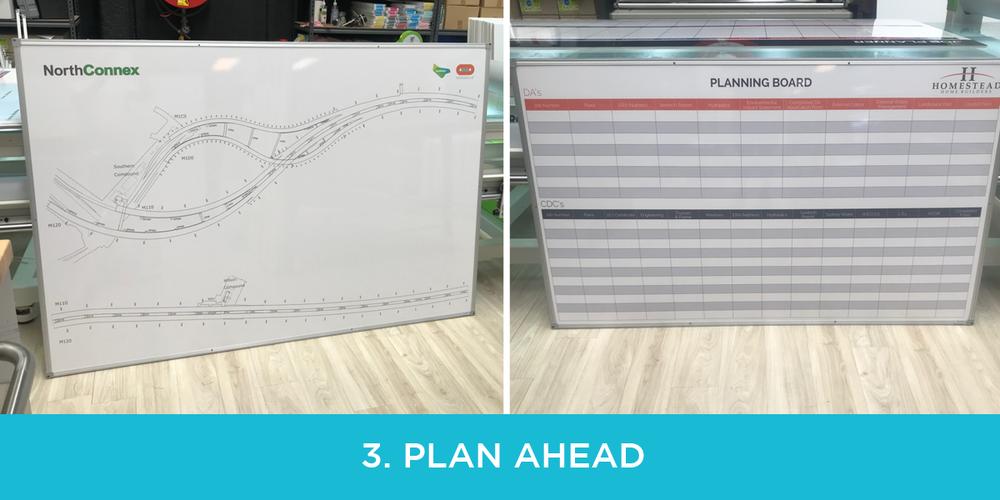 planning whiteboard