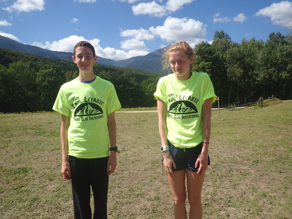 Our very awkward T-Shirt winners!