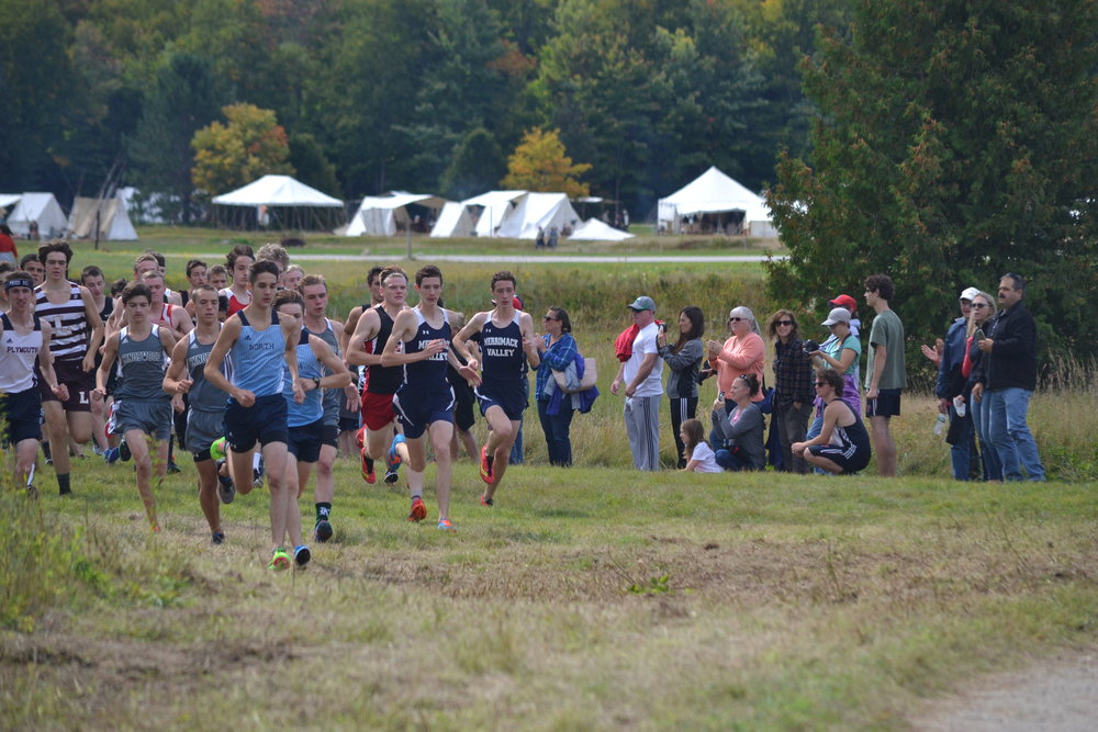 Start Of Boys Varsity Race