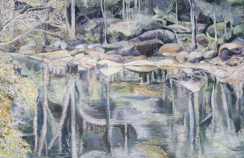 Title: Coal & Candle Creek - Oyster Rock in the Rain