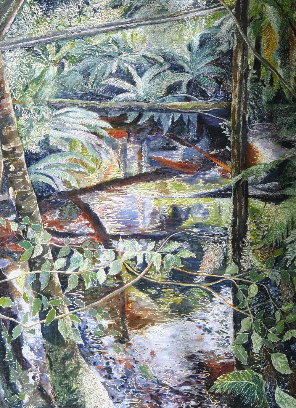 Title: Botanical Creek -Enchanted