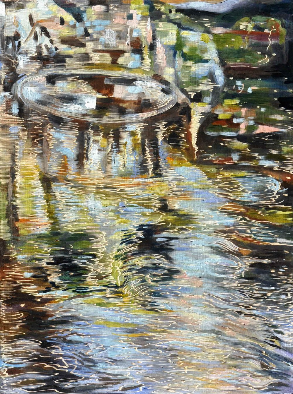 Title: Water Dancing - America Bay Creek