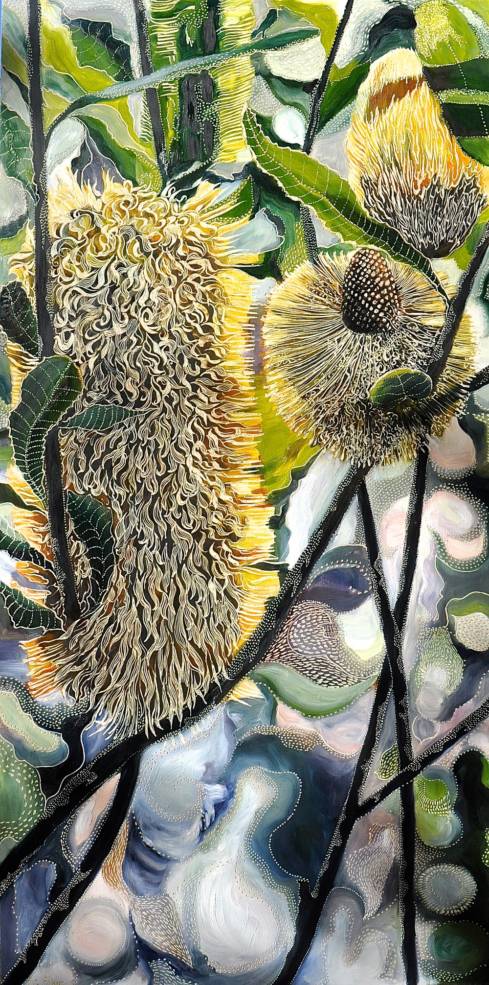 Homage to Swamp Banksias