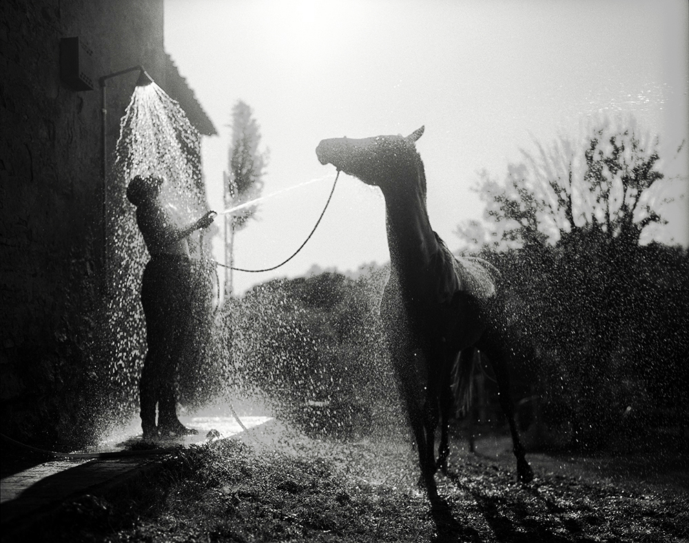 Tuscan Shower