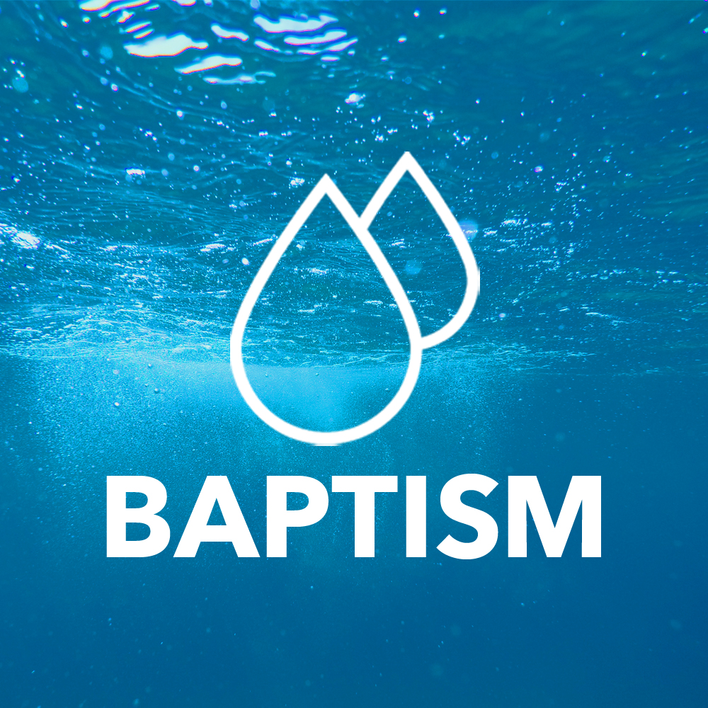 GET BAPTIZED  Sign up today to take your faith in Jesus public through water baptism.