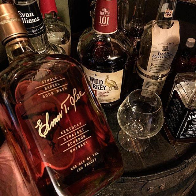 A very nice birthday pour. #ElmerTLee