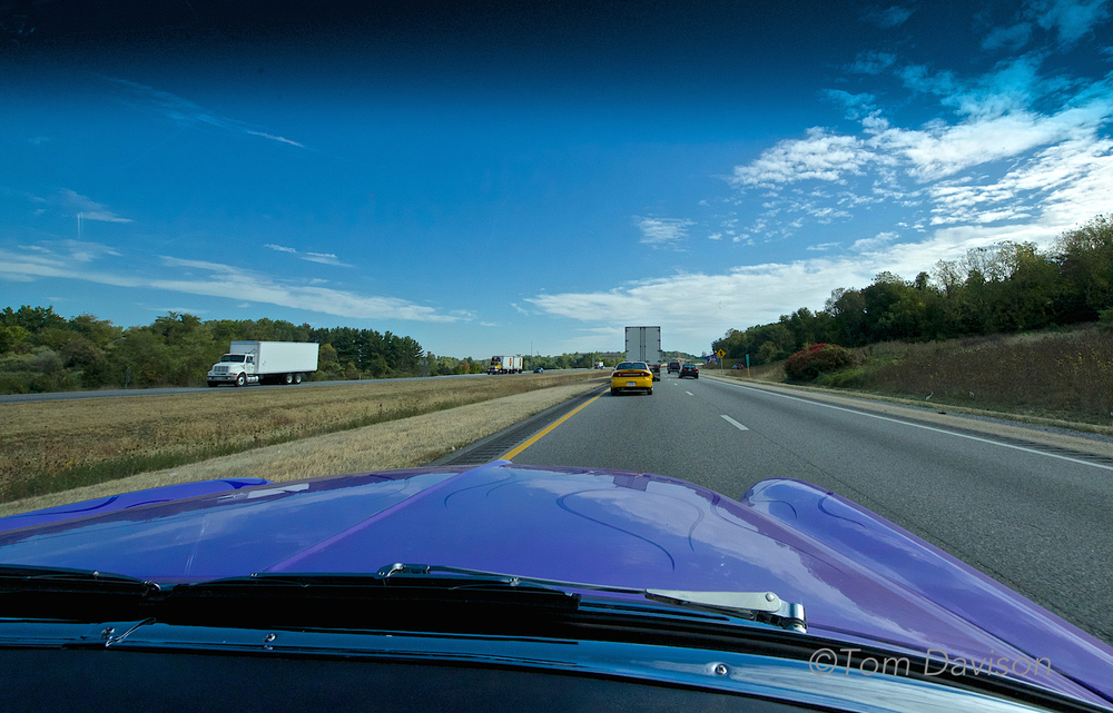 Tom puts his 14mm lens to good use while cruising I-40 in Tennessee.