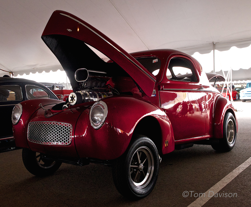 1941 Willys drag race car.