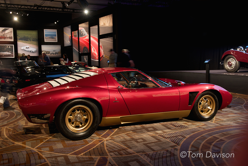 Lamborghini Muira SV Jota, one of the most desirable and regarded sports cars made, very rare