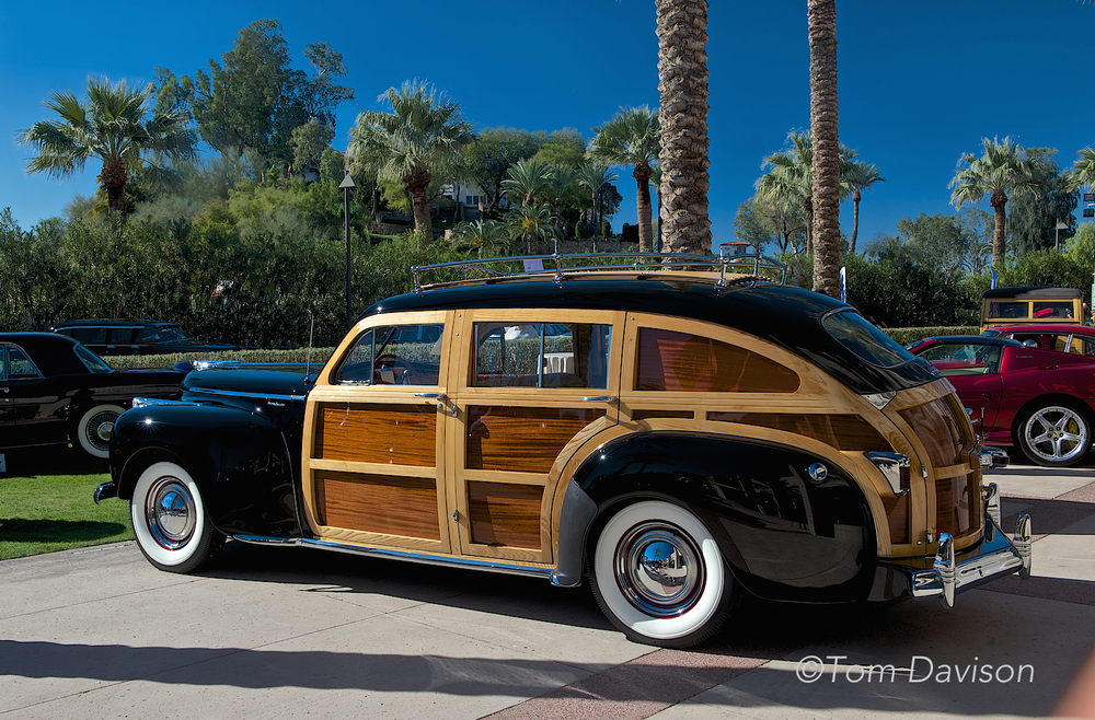 1941 Chrysler Woody station wagon