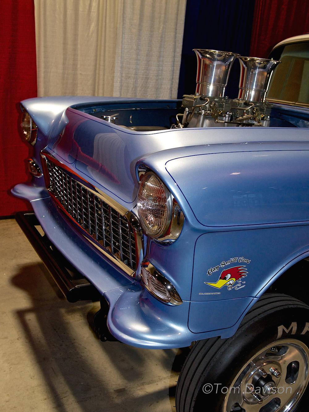 1955 Chevy street racer.