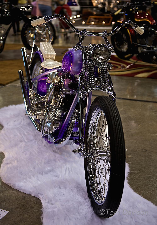 Classic Harley Davidson Chopper