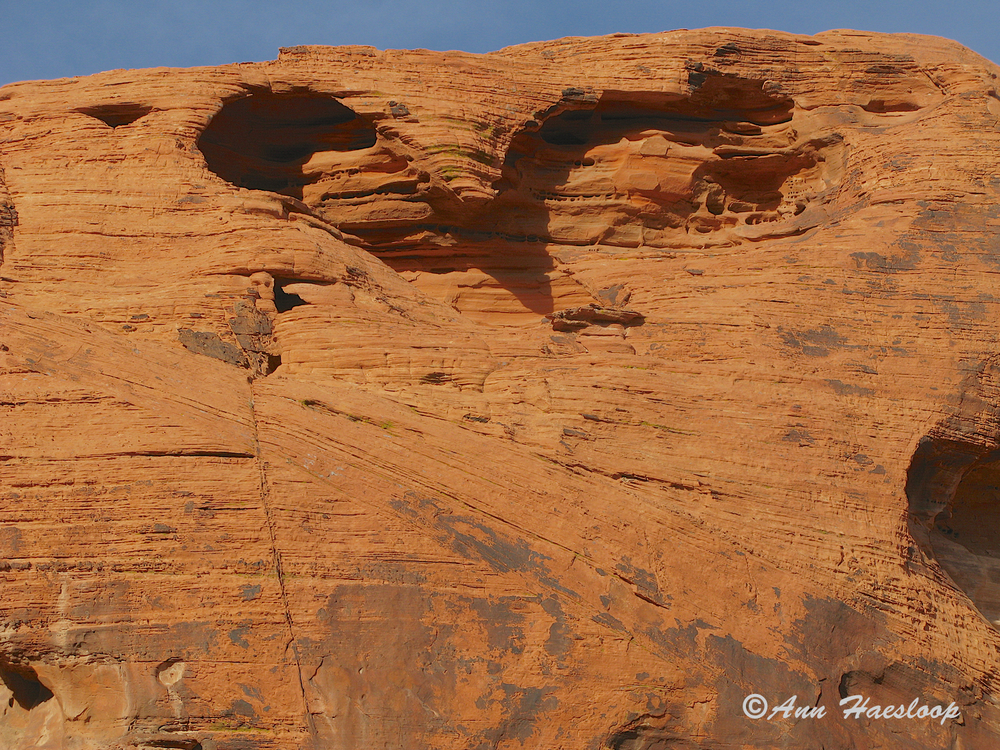 Just in time for Valentine's Day, Ann gives us a heart rock.