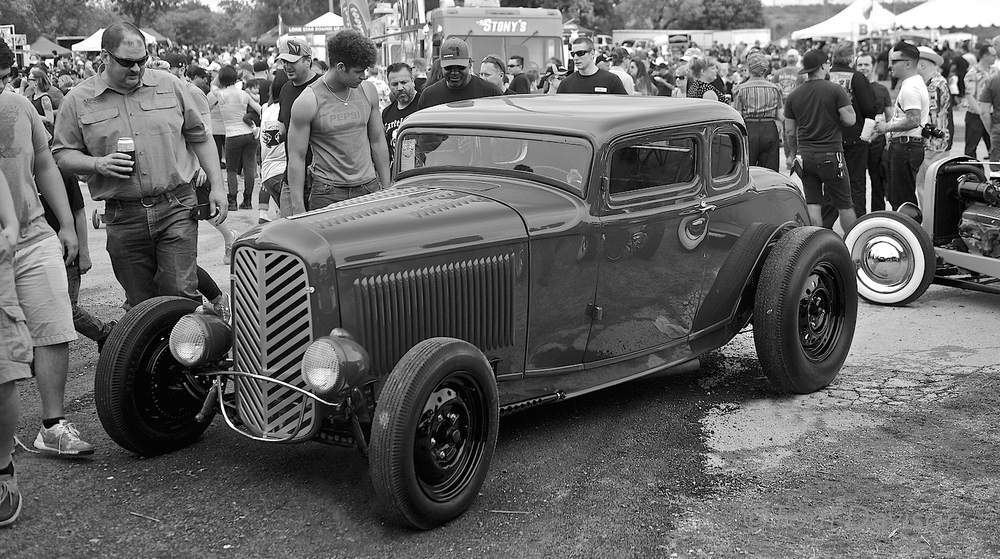 A 1932 Ford.