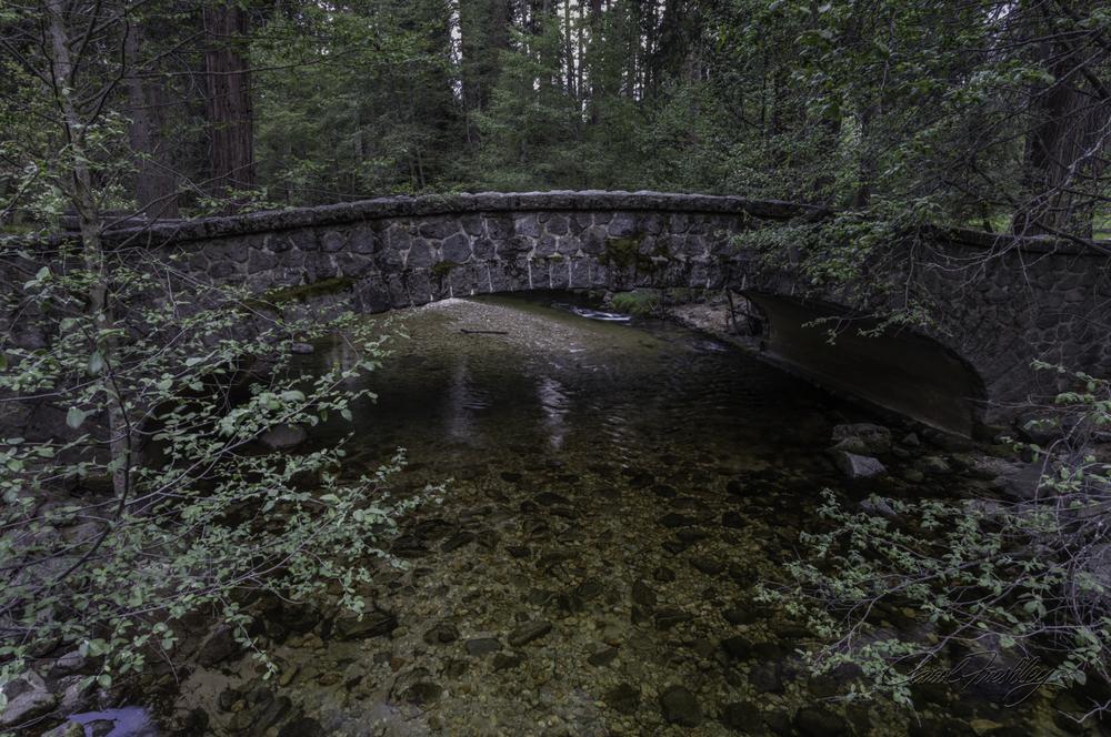 Bridge near Yosemite Falls.