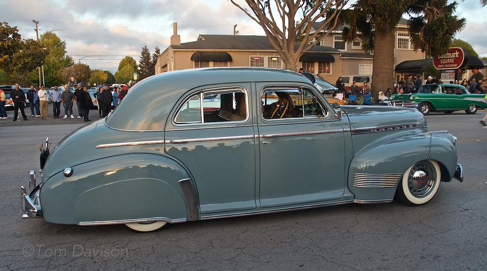 1941 Chevrolet Sedan.