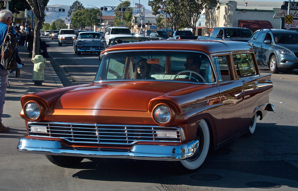 1957 Ford Station Wagon.