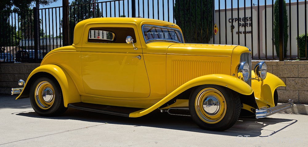 A 1932 five window coupe.