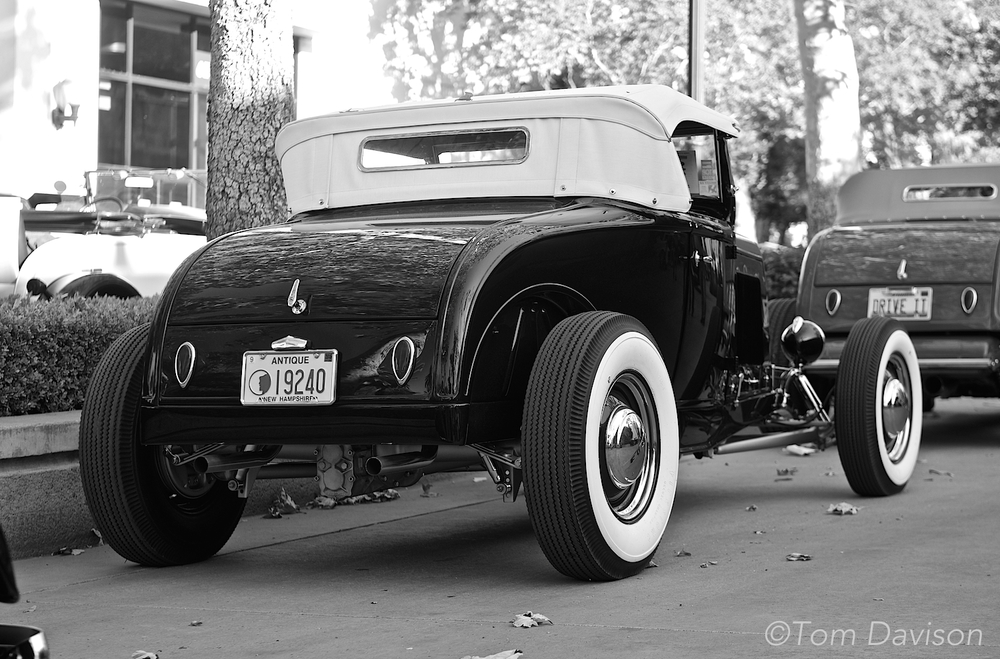 A 1931 Ford Roadster.