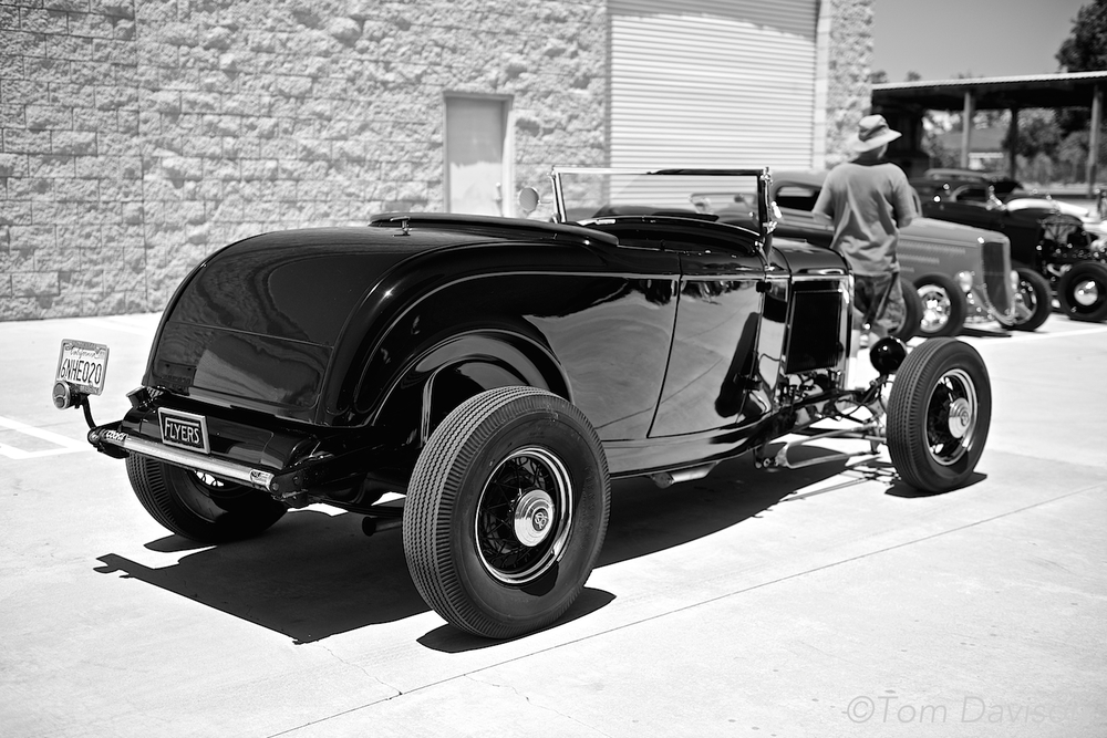 1932 Ford HiBoy Roadster done in a late 1940s style.