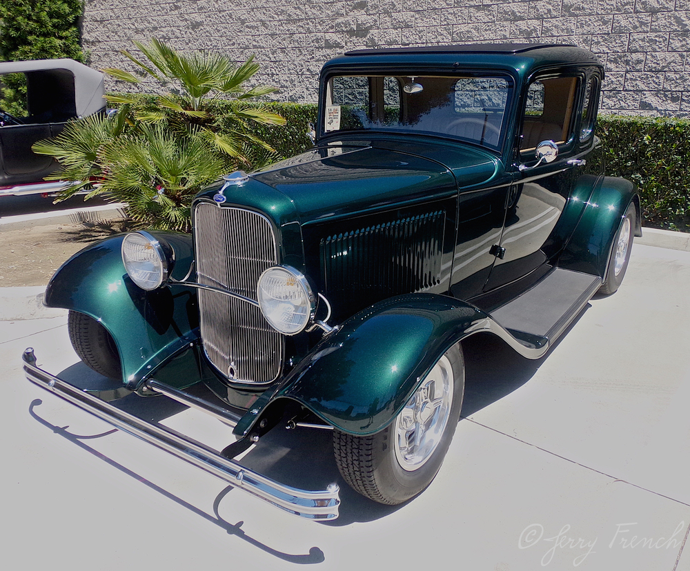 1932 Ford 5 window coupe.