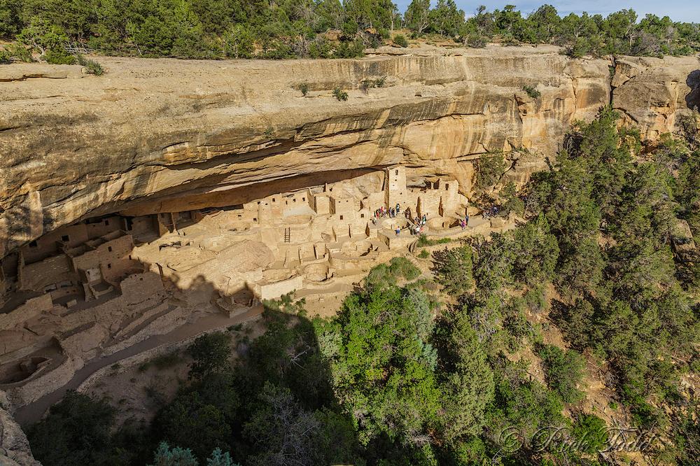 Mesa Verde Cliff Dwellings.