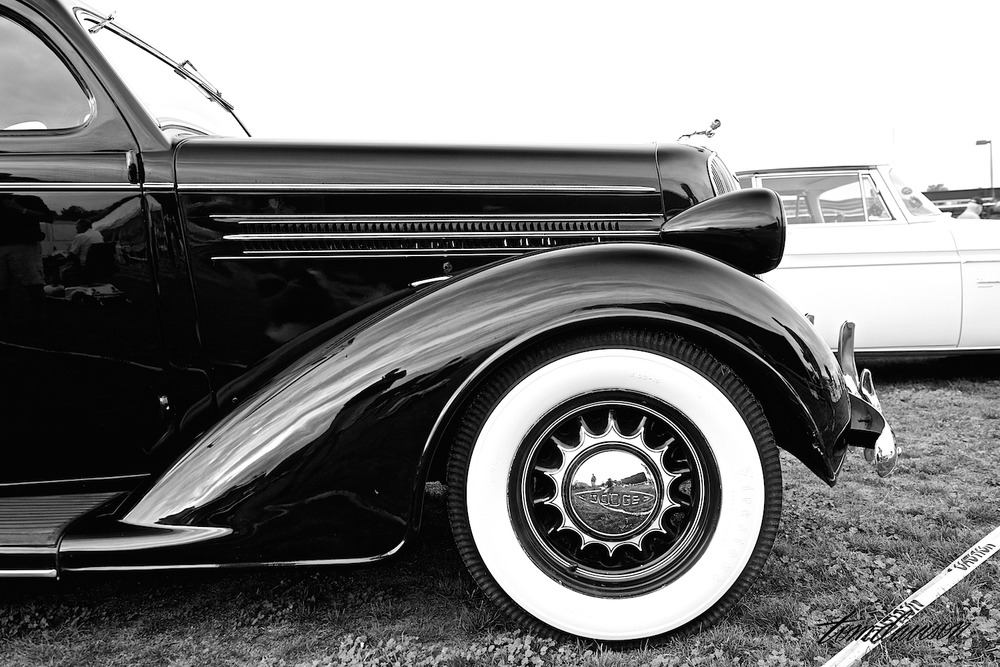 Detail of 1936 Coupe.