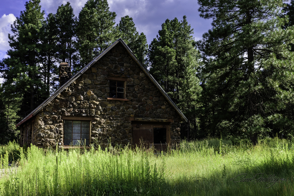 This abandoned rock house is believed to have once been a general store.