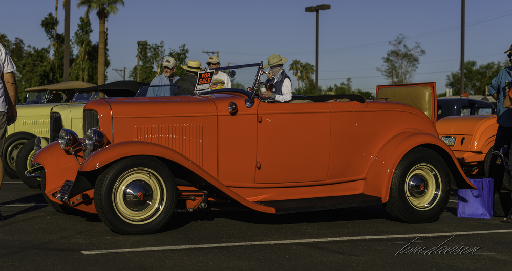Classic deuce roadster.