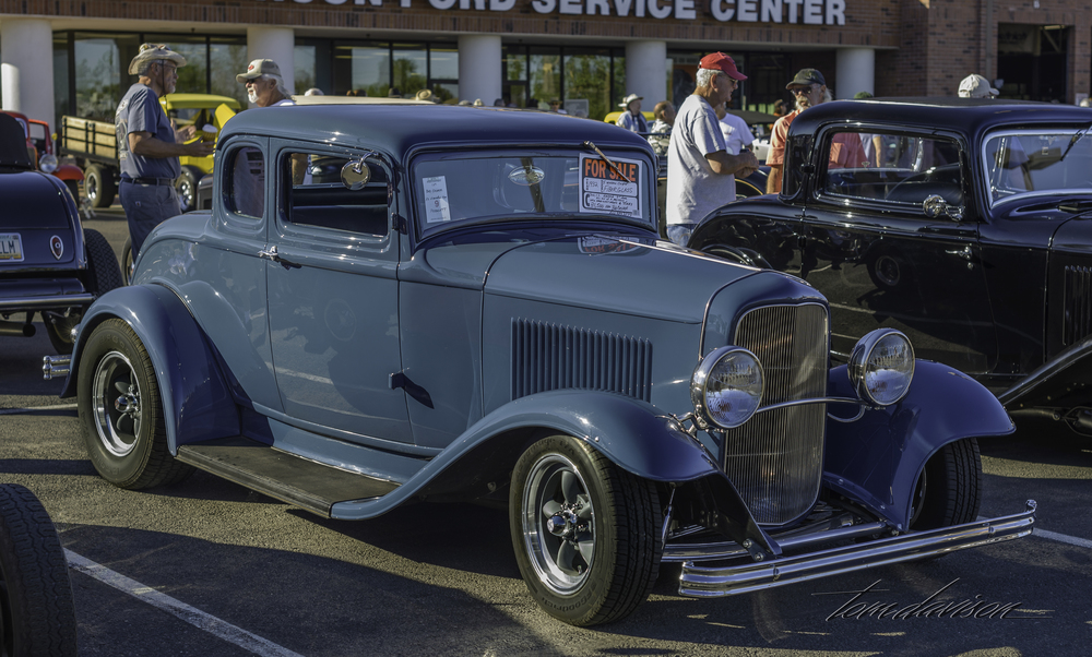 Deuce five window coupe.