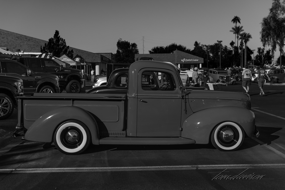 1940 Ford pickup.