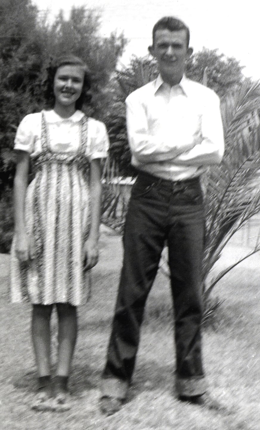 "My mother was smart and inquisitive.  She skipped two grades in elementary school!  She recalls her older brother was not so happy that she started high school at the age of 12!  ""I think it embarrassed him,"" she would say."