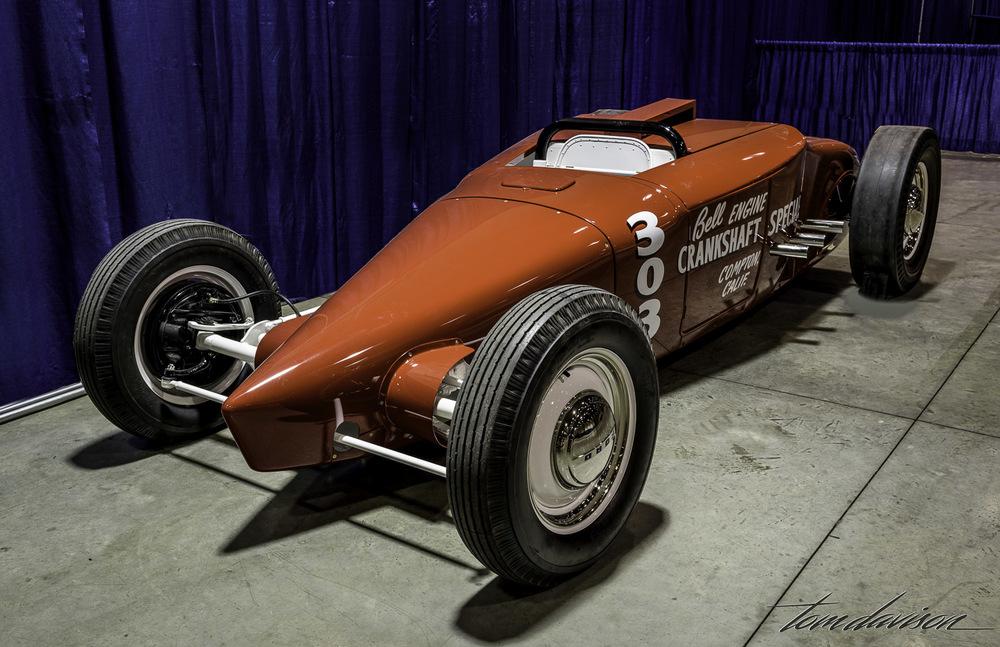 Salt flat racer 1927 Ford