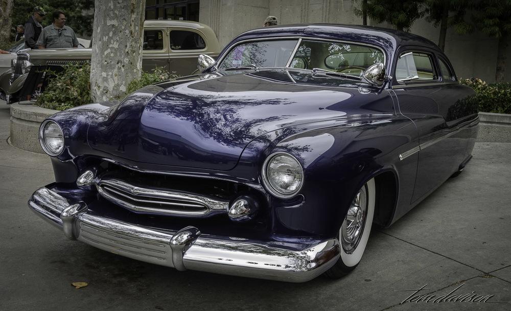 Classic 1950 Mercury leadsled