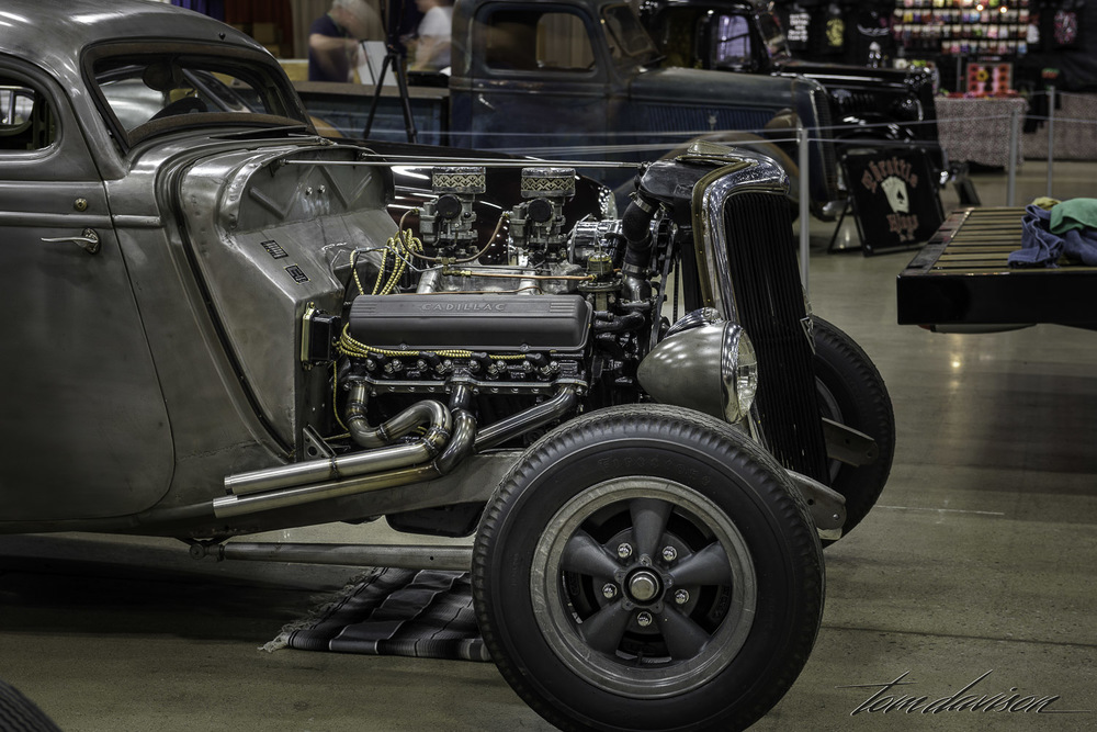 1934 Ford hot rod coupe