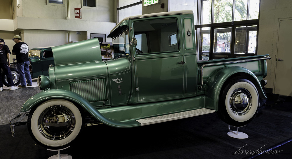 Recreated 1960 vintage show Model A pickup