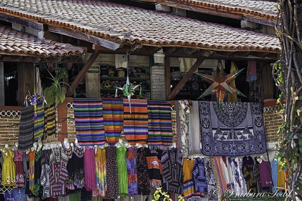 Open air market.
