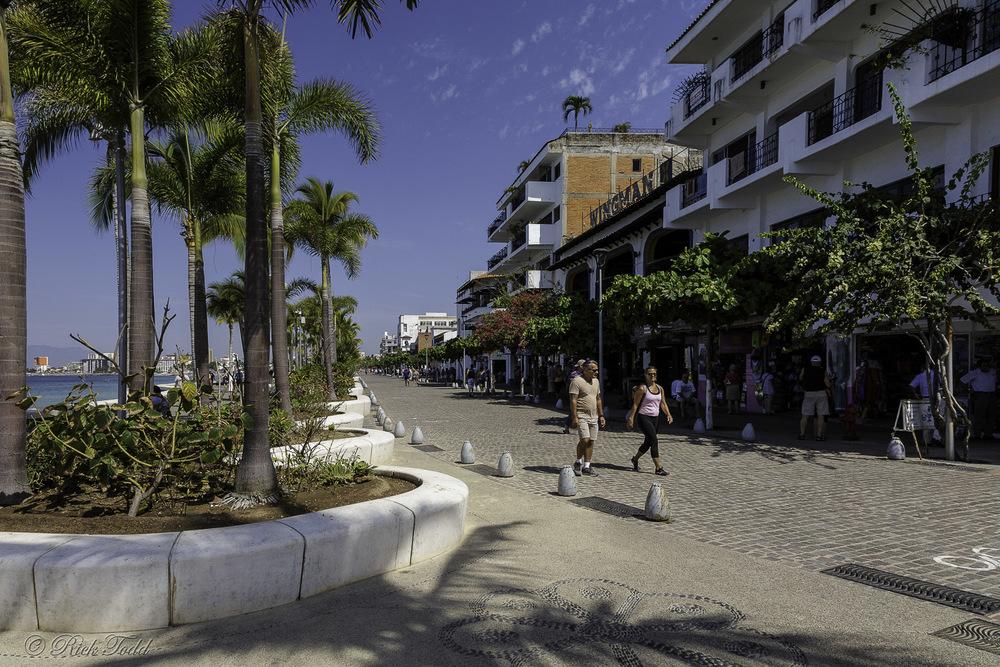 Street scene in Puerto Vallarta.