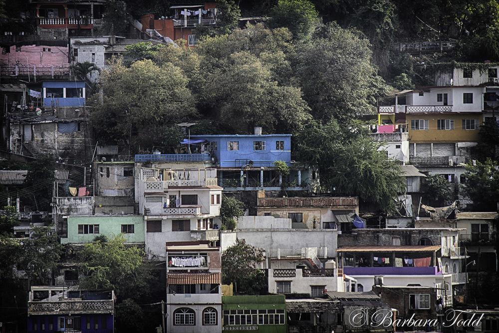 Manzanillo hillside. Love the color.
