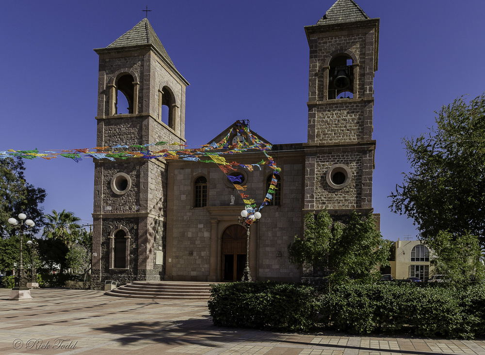 Mission in La Paz.