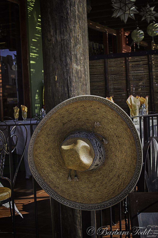 A gorgeous sombrero!