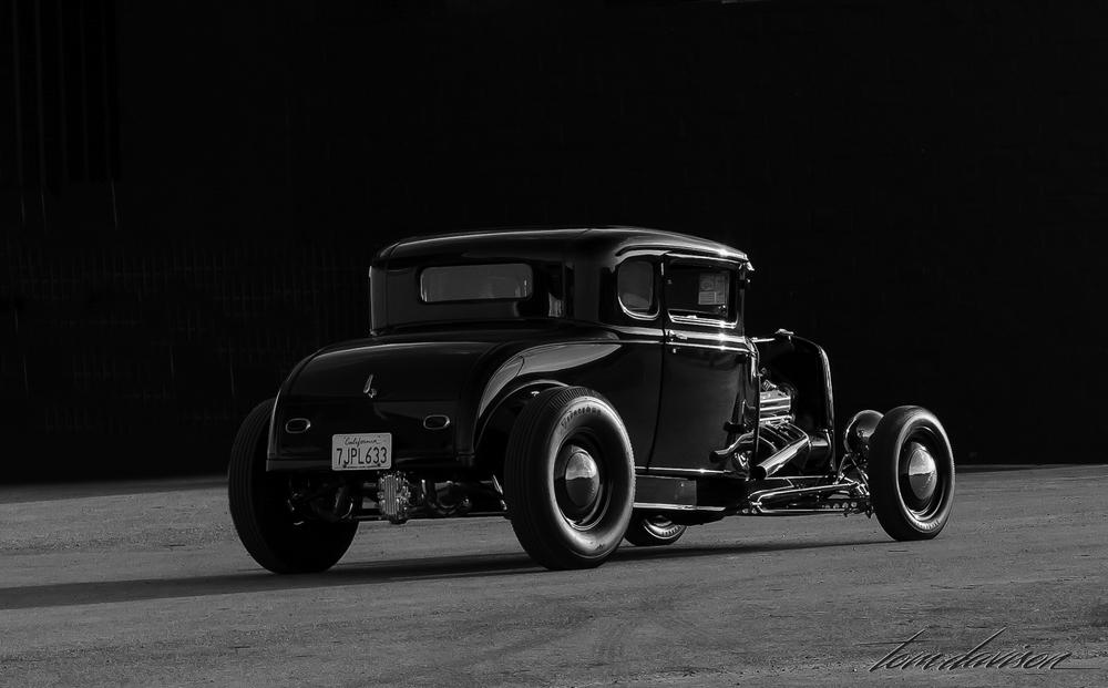 1931 Ford Highboy.