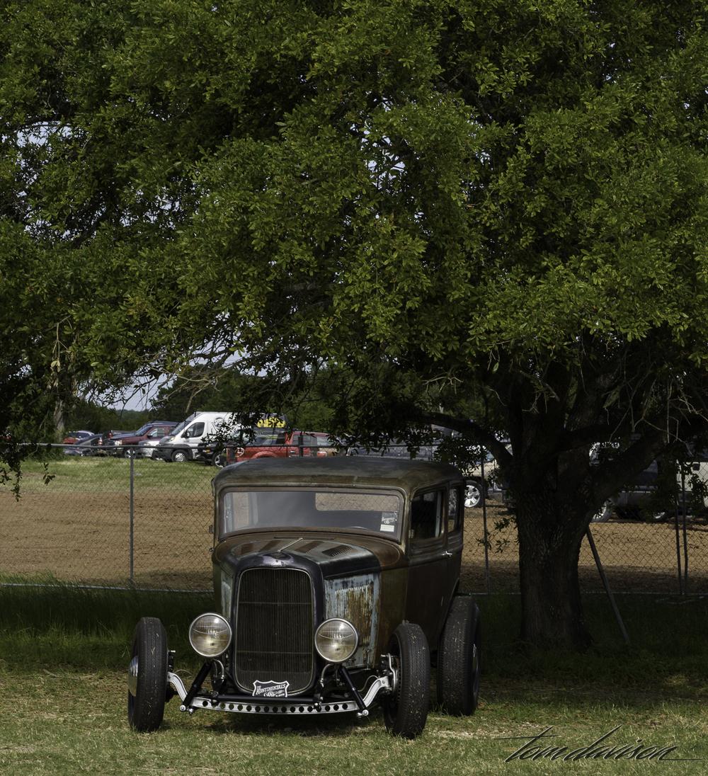 1932 Ford sedan.