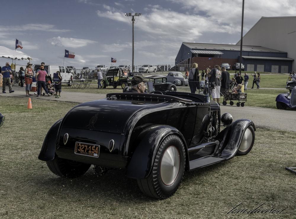 1928 Model A roadster.