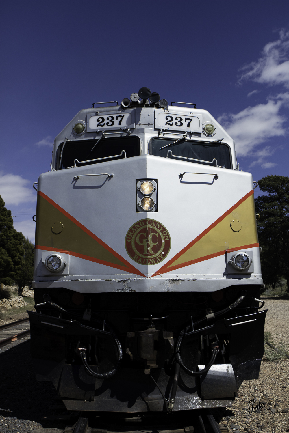 The Grand Canyon Railroad is integral to the Canyon experience, especially for kids.