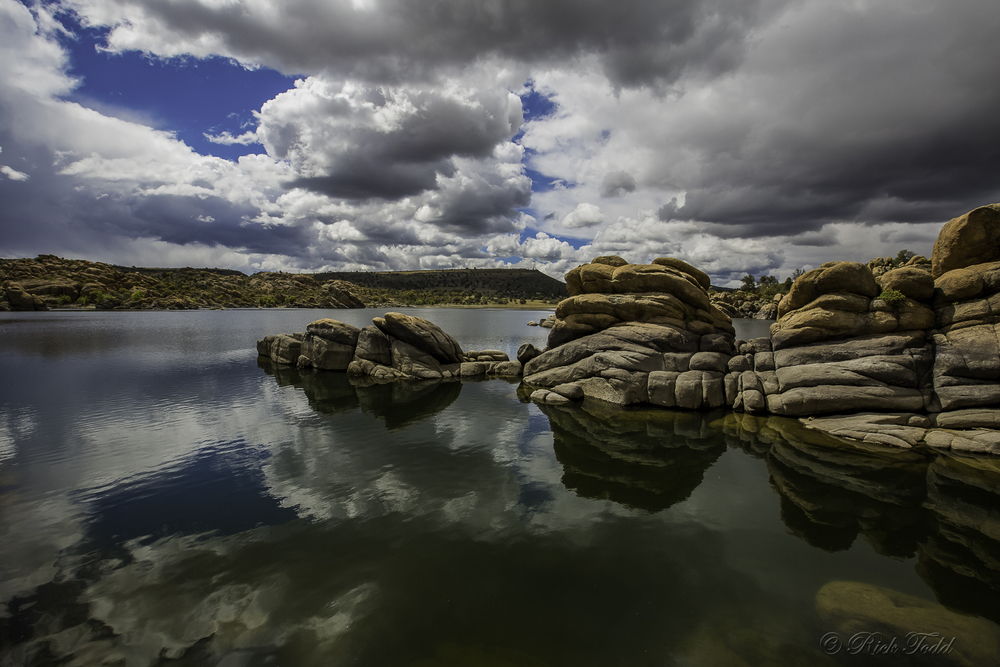 Sometimes Watson Lake is referred to as 'Mirror Lake.