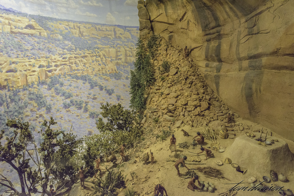 One of 5 dioramas in the museum.  The bookstore next door is very good and has some really good books on photography in the southwest.
