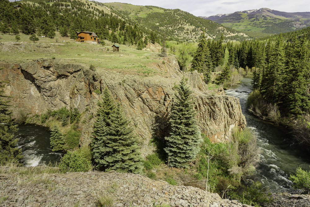 As you enter Lake City you drive right by the Lake Fork of the Gunnison River.