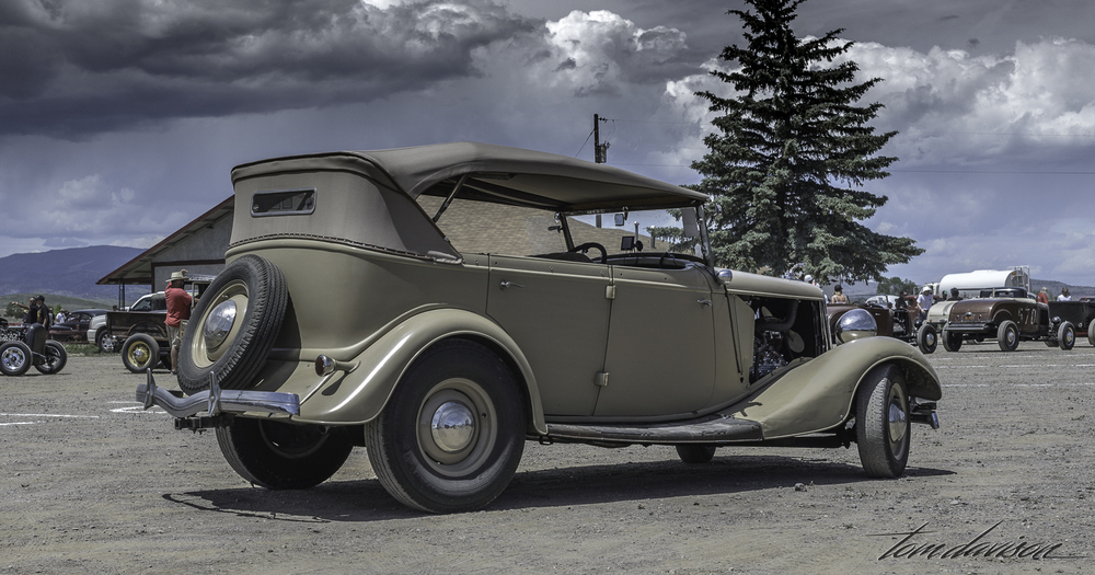 Same 1934 Ford Phaeton.